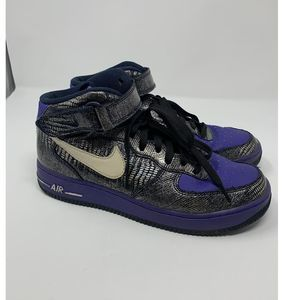 Nike Air Force 1 mid obsidian white Violet 11